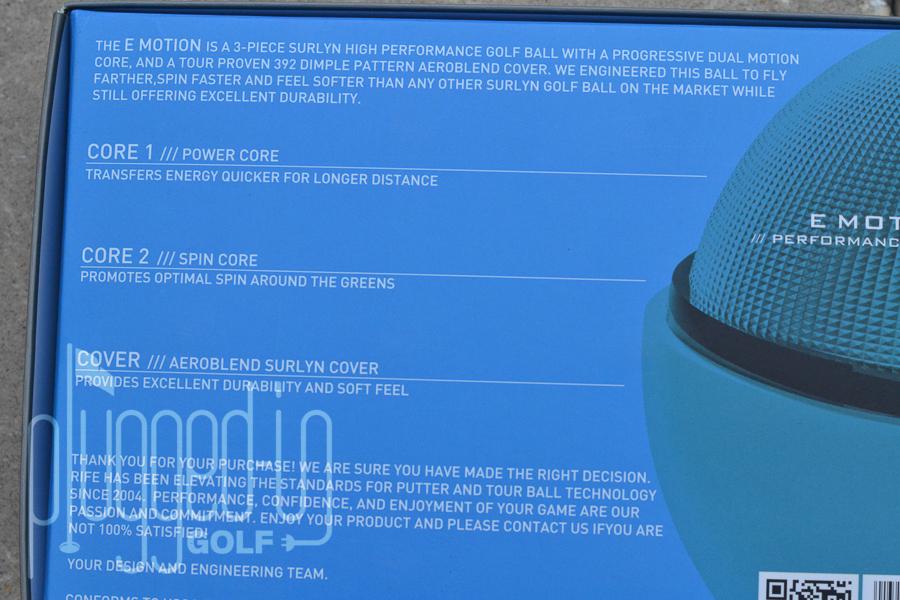 Rife Golf Balls (9)