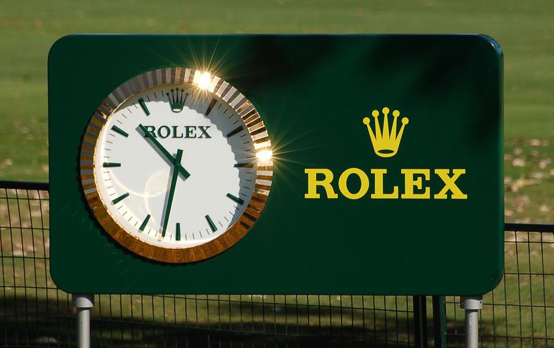 Rolex Golf Clock,L , Plugged In Golf