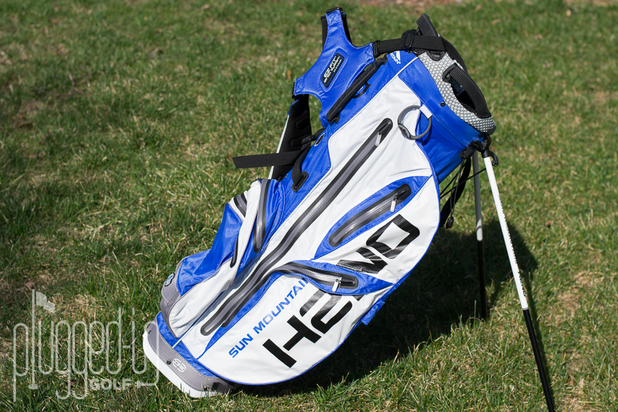 Sun Mountain H2NO Staff Stand Bag Review