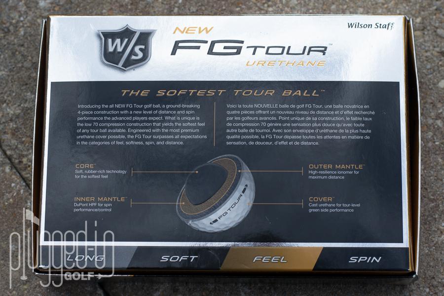 Wilson Staff FG Tour Golf Ball (5)