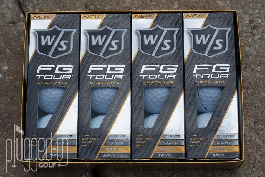 Wilson Staff FG Tour Golf Ball (6)