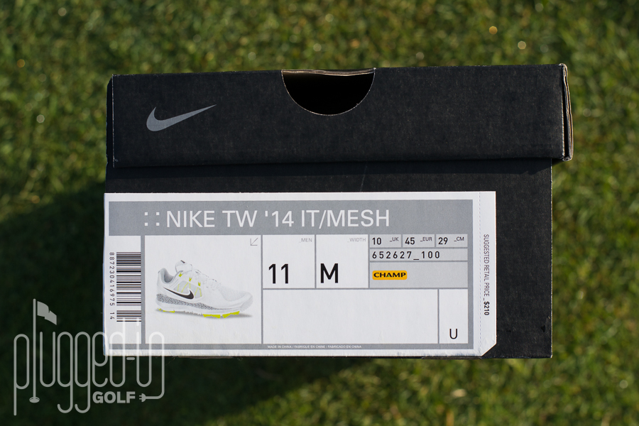 Nike TW 14 Mesh Golf Shoe (2)