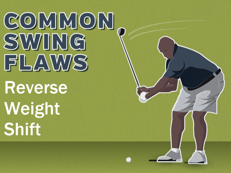 Common Swing Flaws: Reverse Weight Shift