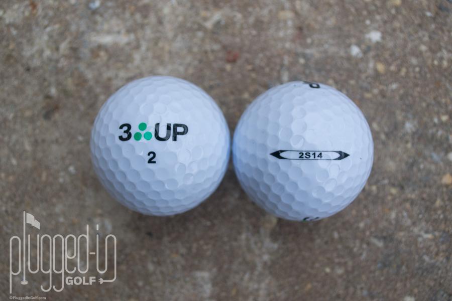 3 Up Golf 2S14 Golf Ball Review