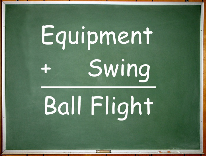 Equipment Plus Swing Equals Ball Flight