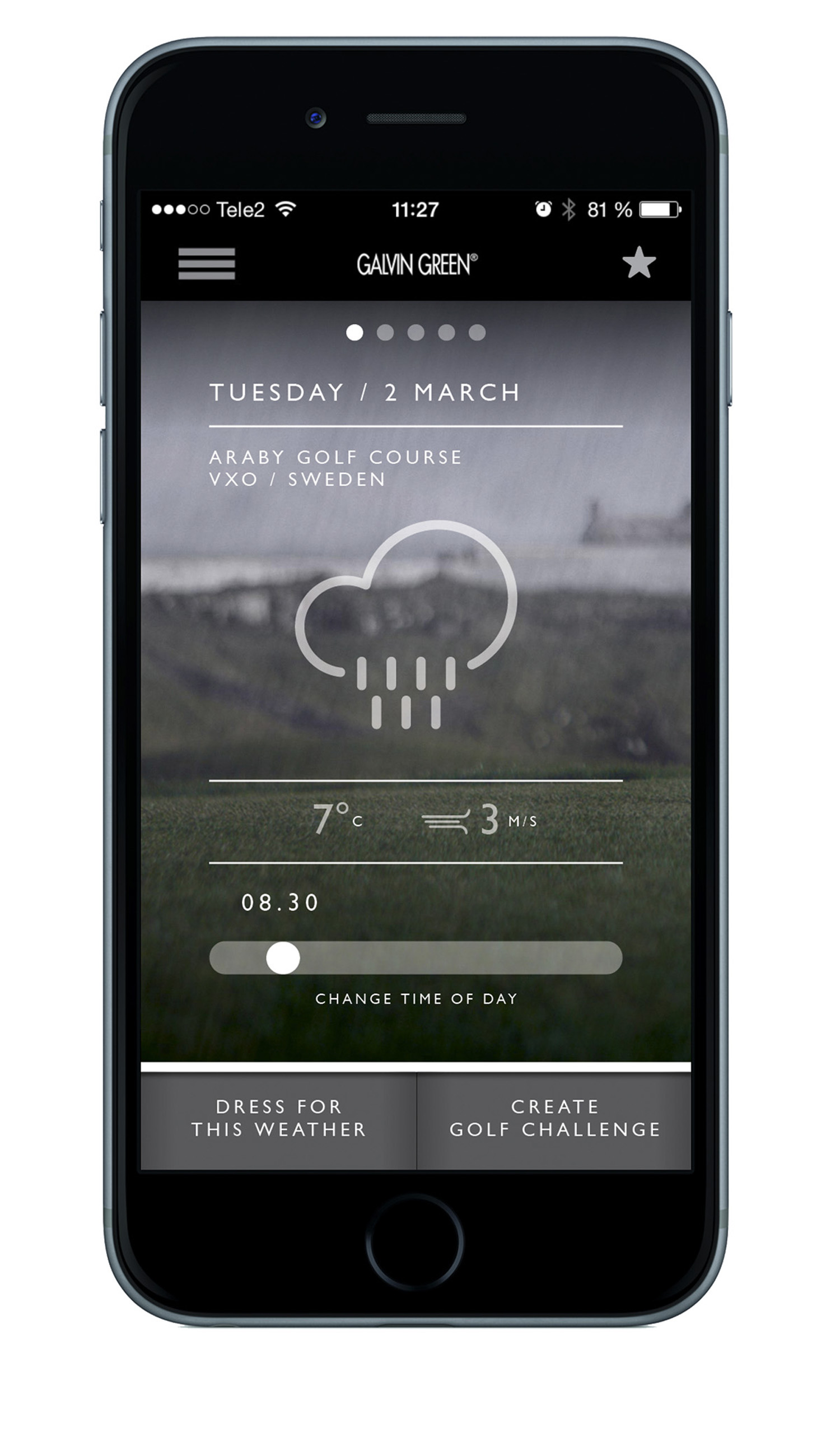 Galvin Green - Gear Up App