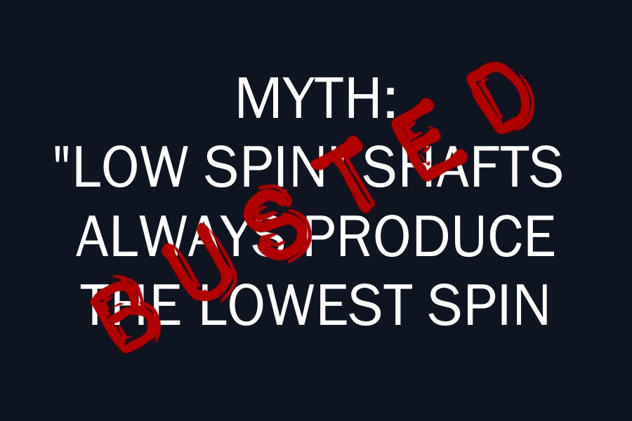 Low Spin Myth Busted