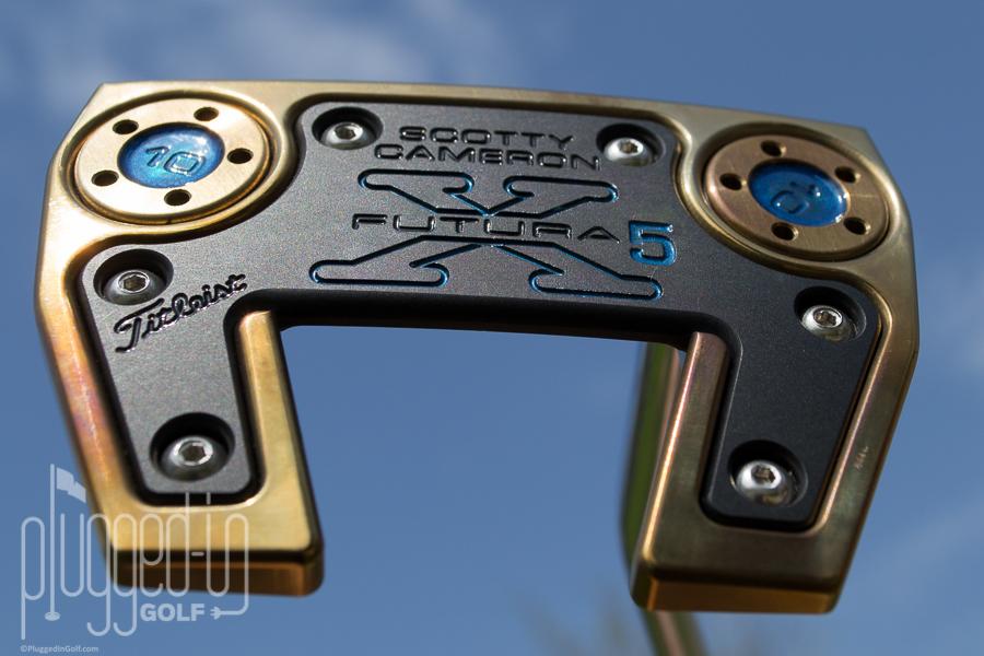 Custom Scotty Cameron Futura X5