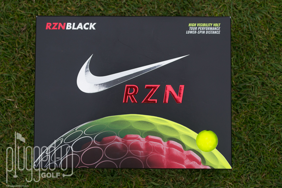 Nike RZN Black Golf Ball Review