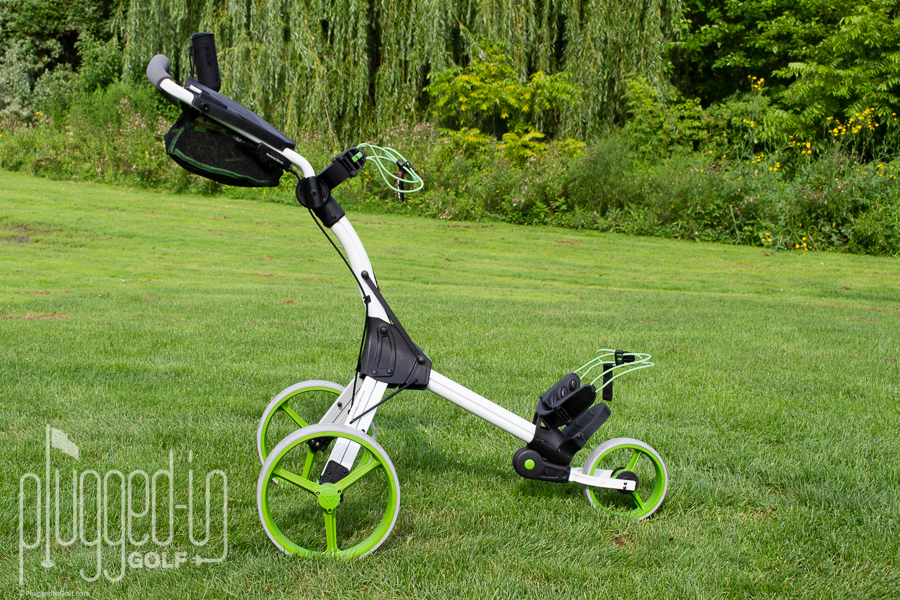 Big Max IQ Plus Push Cart Review