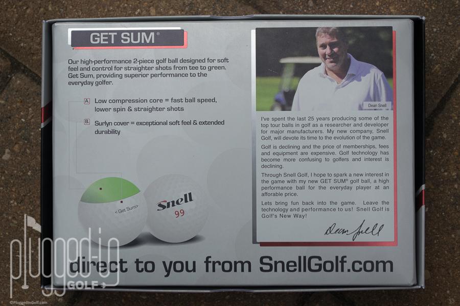 Snell Golf Get Sum Golf Ball_0056
