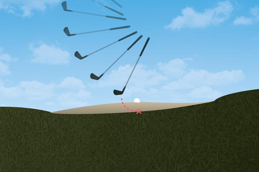 Bunker Shot - No Sand Bad