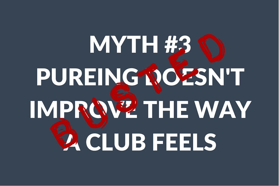 MYTH #1PUREING DOESN'TIMPROVE DISTANCE