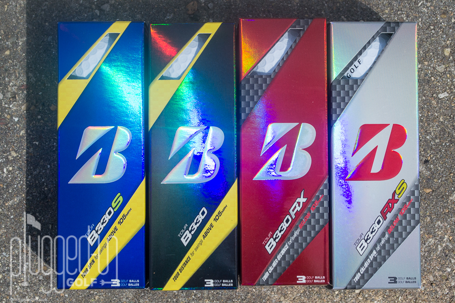 2016 Bridgestone B330 B330-S B330-RX B330-RXS Golf Ball Review