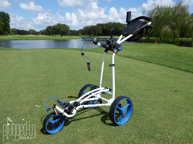 Big Max Autofold FF Push Cart Review