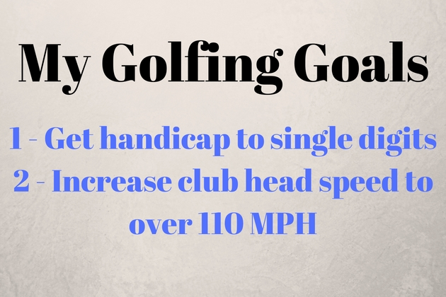 My Golfing Goals