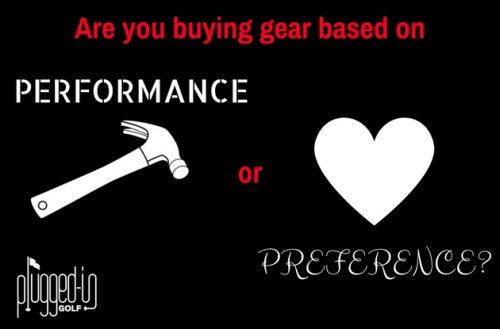 Performance vs. Preference