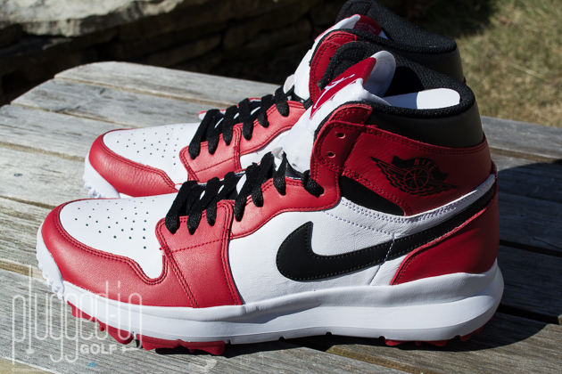880cd4983 Air Jordan 1 Golf Shoe Review - Plugged In Golf