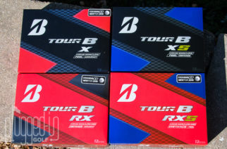 Bridgestone Tour B X, Tour B XS, Tour B RX, & Tour B RXS Golf Ball Review