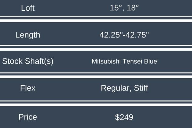 Mizuno ST-180 Fairway Wood Price & Specs