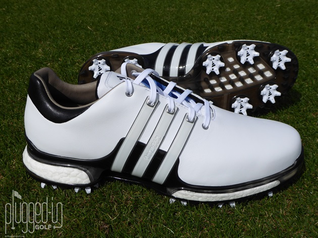 antena suficiente Ahora  Adidas Tour 360 Boost 2.0 Golf Shoe Review - Plugged In Golf